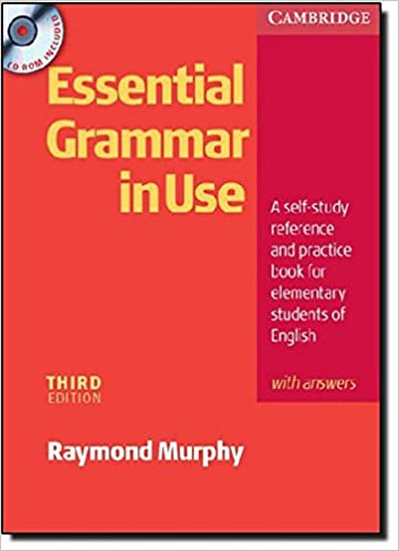 Essential Grammar in Use 3rd with Answers and CD-ROM Pack: Amazon ...