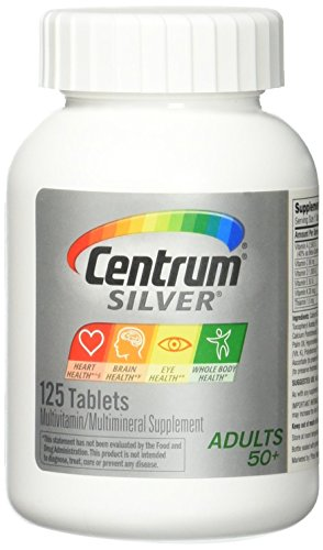 Centrum Silver 125ct Size 125ct Centrum Silver 125ct (Centrum Silver 125 Tablets)