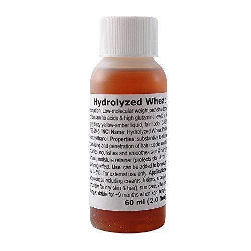 Wheat Protein, Hydrolyzed - 2.0floz / 60ml (Best Hydrolyzed Protein For Hair)