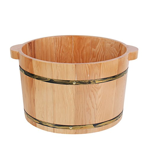 Foot Massage Bucket Natural Wooden Foot SPA Bucket by XUCAI SAUNA