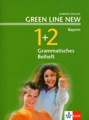 Green Line NEW Bayern: Grammatisches Beiheft Band 1 und 2: 5./6. Schuljahr (Green Line NEW. Ausgabe für Bayern) (Englisch) Taschenbuch – 1. August 2005 Klett 3125472210 Schulbücher Englisch / Schulbuch