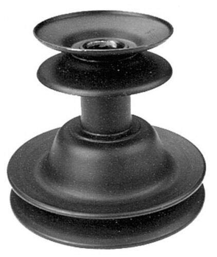 10185 Rotary Double Engine Pulley for MTD 660-679 Riders; REPL. 756-0982B + Free ebook - Your Lawn & Lawn Care -