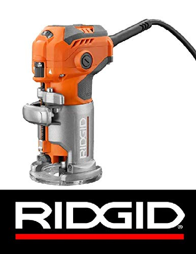 Ridgid 5.5 Amp Corded Compact Power Trim Router With Micro A