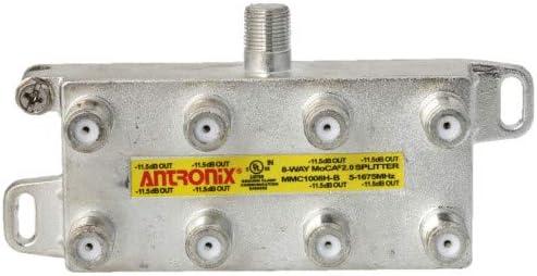 8 Way Antronix MMC1008H-B 5-1675 MHz MoCA 2.0 Splitter for Frontier Formerly Verizon Fios