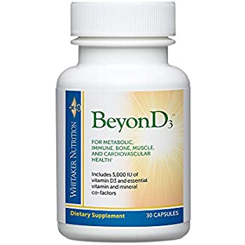 Dr. Whitakers BeyonD3 - Vitamin D Supplement with Boron, Vitamin K2, Magnesium & Zinc - Supports Immune Health, Calcium Metabolism & Bone Mineralization ...