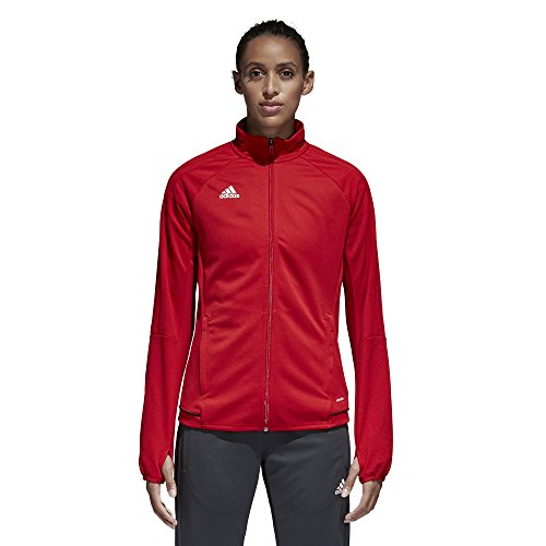 Power Jacket (Adidas Tiro 17 Womens Soccer Training Jacket S Power Red-Black-White)