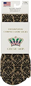 Celeste Stein CMPS-1932N Therapeutic Compression Socks, 0.6 Ounce