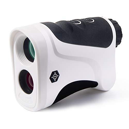 PEAKPULSE 6 Golf Rangefinder, Golf Laser Range Finder with Ranging, Scan, Speed Detection, Pulse Vibration and 8 Seconds Automatically Close Function, Perfect for Golf and Hunting