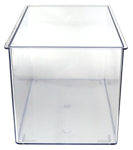 Aquarium Tank - Large - Molded Plastic - 1.75 Gallon Capacity - 10.25