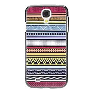 Flowery Line Pattern Hard Case for Samsung Galaxy S4 I9500