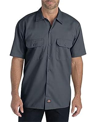 Dickies Men's Short-Sleeve Flex Twill Work Shirt