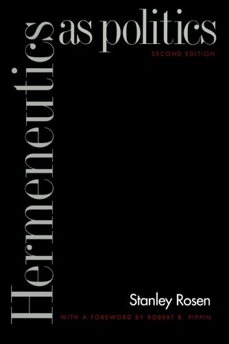 Hermeneutics as Politics: Second Edition
