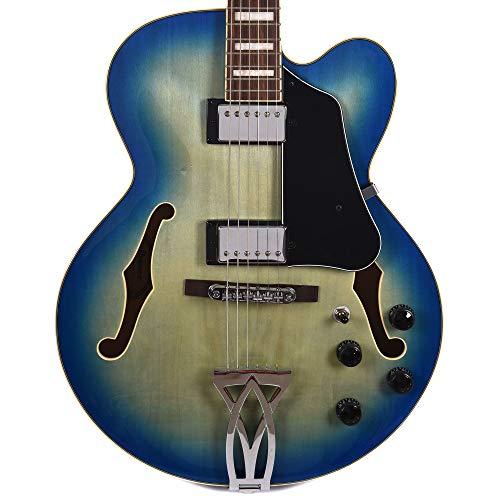 Ibanez AF75 Artcore Hollow Body Electric Jet Blue (Blues Hollow Body Guitar)