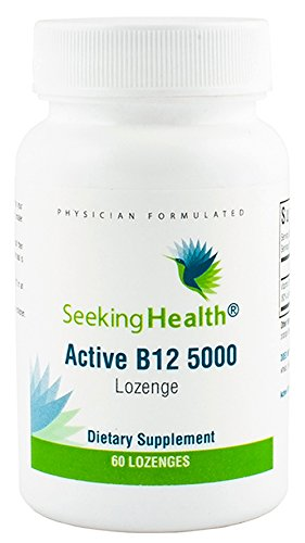 Seeking Health | Active B12 Vitamin Supplement | 5,000 mcg Lozenge | B Engergy Supplement
