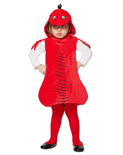 Dr Seuss Thing 2 Costume (Spirit Halloween Toddler Red Fish Costume - Dr. Seuss)