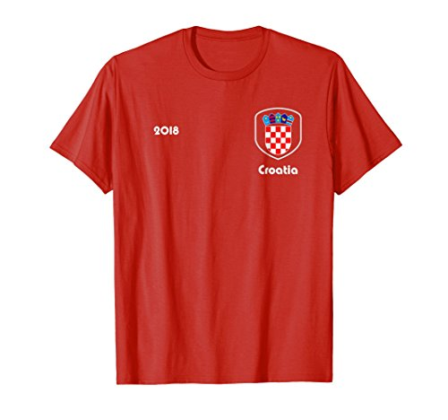 - Croatia Soccer shirt Team Russia 2018 TShirt Football
