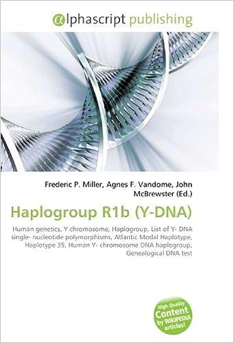 Haplogroup R1b (Y-DNA) - Livros na Amazon Brasil- 9786130253820