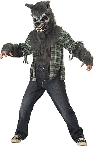 Werewolf Child Costume Grey - Medium ()