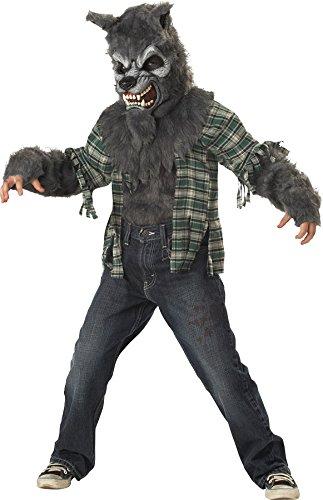 Werewolf Child Costume Grey - Medium