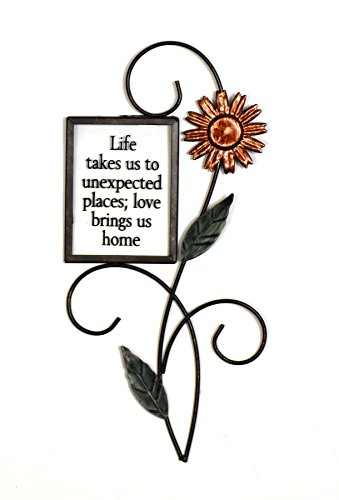 Fetco Home Décor Halle  gold Wall Art, Life Takes Us