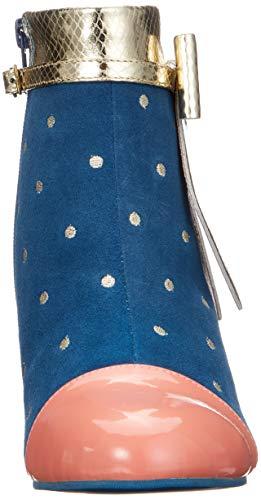 Donna Ava 91 Lola Blu Ramona Stivali blue q1nTtw