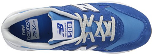 New Balance Mens 580 Fashion Sneaker Blue