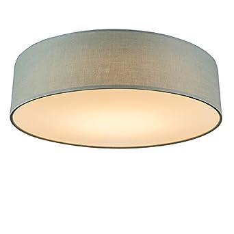 Deckenlampe rund gr n for Deckenleuchten rund modern