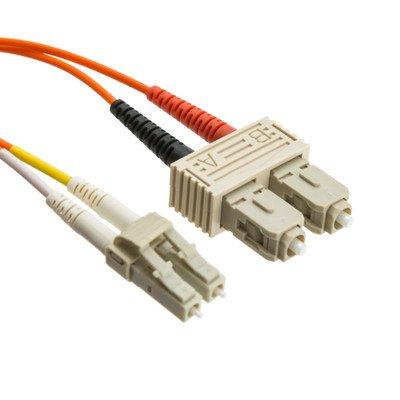 30メーターLC / SCマルチモードデュプレックス光ファイバーケーブル、50 / 125 ( 50パック) by NETCNA B071XFD9K7