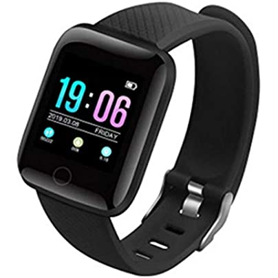 DMMDHR Smart Bracelet Watch Waterproof Sport Health Wristband Heart Rate Monitor Blood Pressure Fitness Activities Tracker Estimated Price £28.44 -