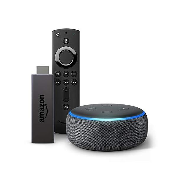 41flsy68TbL Echo Dot (Black) bundle with Fire TV Stick