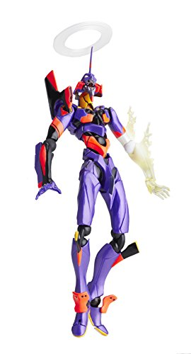 Evangelion Eva 01 Test Type - Kaiyodo Evangelion LR-038: Eva Test Type-01 New Movie Edition (Awakening Version) Action Figure