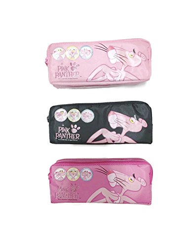 Pink Panther Pencil Case Set of 3