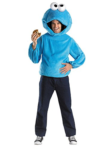 Cookie Monster Adult Costume Size X-Large (42-46) ()