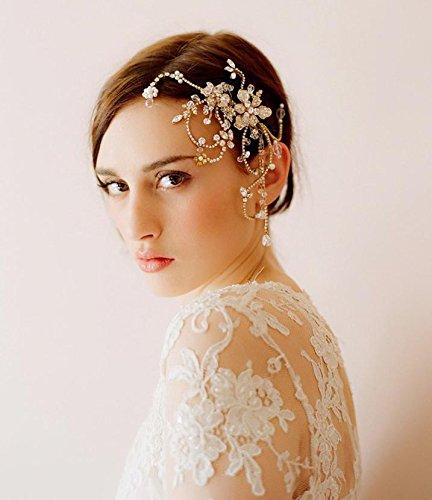 Yu  Accessori per capelli Copricapo   cerimonia nuziale delle donne   sposa    Cappellini   7dc942617cae