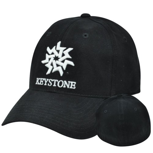 Keystone Mountain Ski Park Resort Hotel Large Xlarge Xl Flex Stretch Fit Hat Cap
