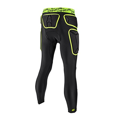 O'Neal Unisex-Adult's Trail Pro Pant (Lime/Black, Large) by O'Neal (Image #1)