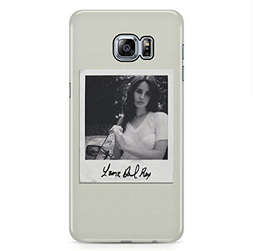 Lana Del Rey Polaroid Photo Signature Samsung Galaxy S6 EDGE PLUS Hard Plastic Phone Case Cover