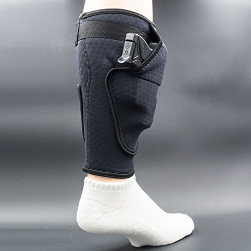 BUGBite Concealment Calf Holster, The Ultimate in Concealed Carry Ankle Holsters. Small to Mid Frame Firearms Conceal Comfortably in The Ankle Holster That is Changing Concealment