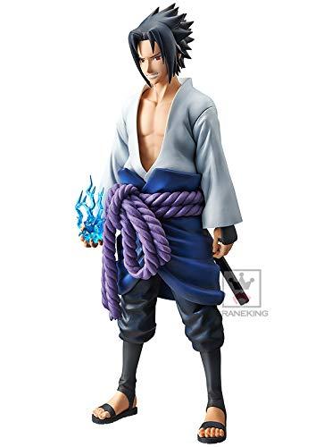 Naruto Shippuuden Figure Uchiha Sasuke Figure Grandista Shinobi Relations Figure INMEDIATAMENTE Disponible Banpresto