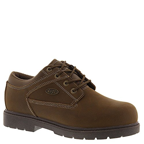 Lugz Men's Savoy Brown/Light Brown Natural Leather Oxford 11 D - (Light Brown Nubuck Leather)