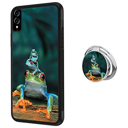iPhone Xs Max case Frog Piles Full Body Case with Holder Ring Cover Protector Heavy Duty Protection case Shockproof case for iPhone Xs Max