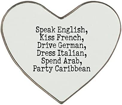 Hablar Inglés, beso francés árabe vestido de disco, alemán ...