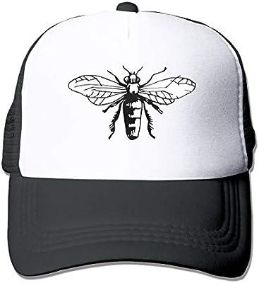 14553a9080613 Amazon.com   Adult Trucker Hat Bee Custom Mesh Caps   Sports   Outdoors