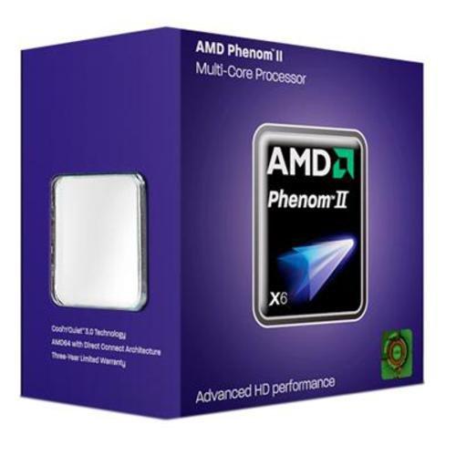 AMD Phenom II  X6 1055T HDT55TFBGRBOX  AM3 PIB 2.8GHz, 45nm, 125W Processor (Phenom Processor X6 Amd)