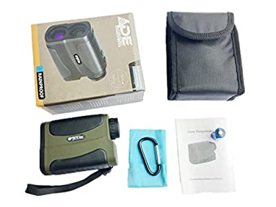 Ade Advanced Optics Golf Laser Hunting Range Finder with PinSeeker Binoculars, Green from Ade Advanced Optics