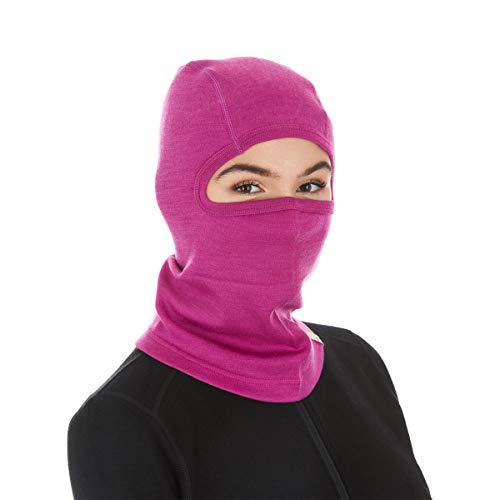 2004 Womens Snowboard Jacket - Minus33 Merino Wool Clothing Midweight Wool Balaclava, Radiant Violet, One Size