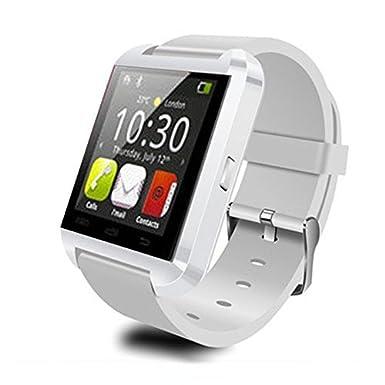 victor_store Reloj Inteligente Bluetooth Reloj Inteligente Reloj teléfono Reloj de Pulsera Deportivo para Deporte Internacional U Reloj para iPhone Samsung ...