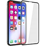 iPhone Xs max/XR Screen Protector [1 Pack], SINOVO Tempered Glass Screen Protector for 2018 New Apple iPhone Xs max/XR Black (iPhone Xs MAX)