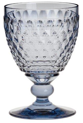 (Villeroy & Boch Boston Blue Crystal Goblet)