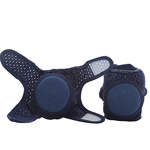 Baby Knee Pads for Crawling, Adjustable Kneepads Unisex Babies, Toddlers Anti-Slip Breathable 4 Packs CalMyotis
